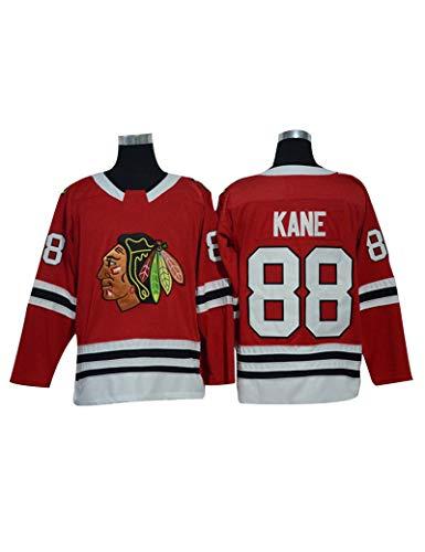 Patrick Kane #88 Eishockey Trikots Jersey Herren Sweatshirts Atmungsaktiv T-Shirt Damen Casual Top