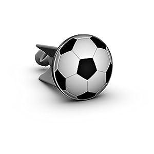 Waschbecken Stöpsel Fussball, das Original von Plopp®, Qualität made in Germany