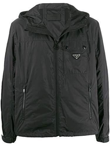 Luxury Fashion | Prada Heren SGB283S201Q04F0002 Zwart Polyamide Outerwear Jassen | Lente-zomer 20