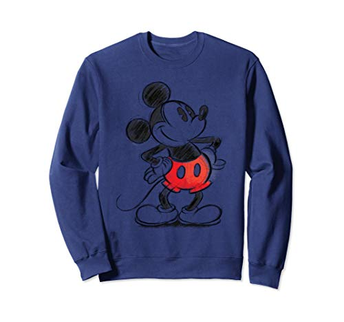 Disney Mickey Mouse Sketch Pullover Sweatshirt