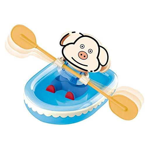 MACCF Baby badespielzeug Baby badespielzeug Schwein Tier Wasser bootfahren Wasser Strand Baby Spielzeug Kinder Schwimmen badespielzeug für Bad LOL Puppen Spielzeug für Chil