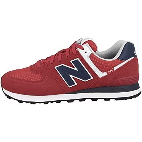 New Balance Herren ML574SP2_42,5 Sneakers, red, 42.5 EU