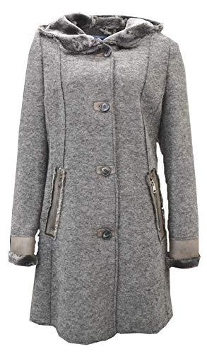 BARBARA LEBEK trendy jas in wolvilt look