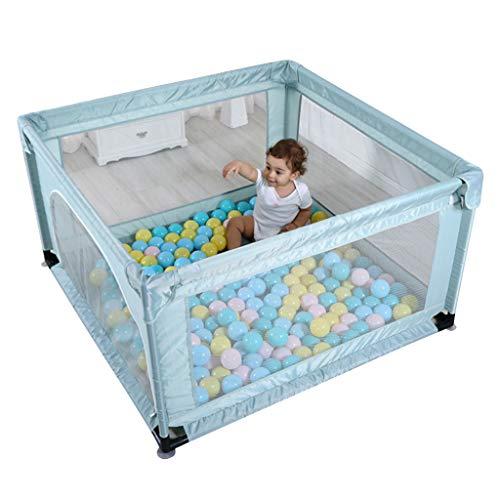 YF-Watch Boxes - Parque Infantil Cuadrado para niños, portátil, para Jugar en el Patio, Centro de Actividades de Seguridad para niños, Valla de Juego con Puerta (47.24 x 47.24 x 26.18 Pulgadas)