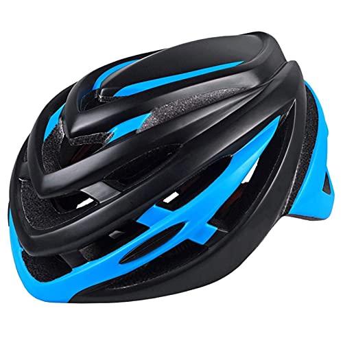 Casco de bicicleta con adhesivo reflectante de seguridad trasera, 15 rejillas de ventilación para bicicleta con forro extraíble, ajustable y ligero, para ciclismo de montaña y carretera