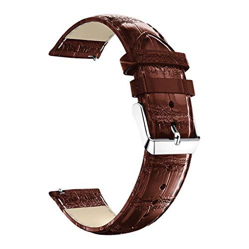 Correa Compatible con Xiaomi Huami Amazfit GTS ,riou Banda de Correa de Pulsera de Reloj de Cuero de Repuesto para Xiaomi Huami Amazfit GTS Suave Sports Pulsera
