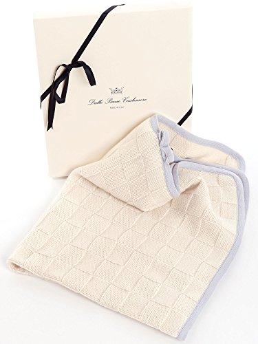 Dalle Piane Cashmere - Babydecke aus 100% Kaschmir - Farbe: Himmel