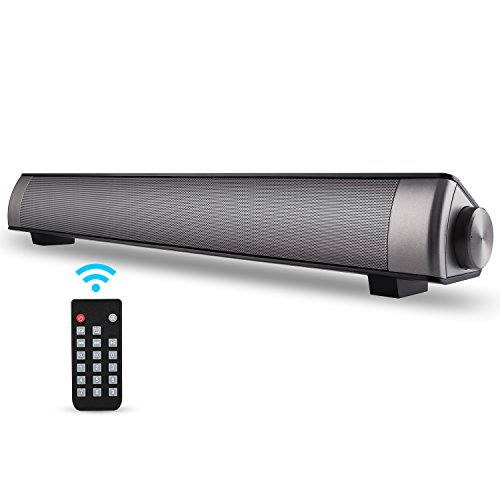 Sound Bar TV Soundbar Wired and Wireless Bluetooth Home Theater TV Speaker, Surround Sound Bar for TV, PC, Cellphone