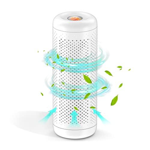 Wireless Add-on Mini Dehumidifier, UooEA Gun Safe Dehumidifiers 2 Hours Fast Recharge,Safe Detachable Heating Base Design,Portable Dehumidifier for home ,RV, Closet, Car, Small Space(No Heating Base)