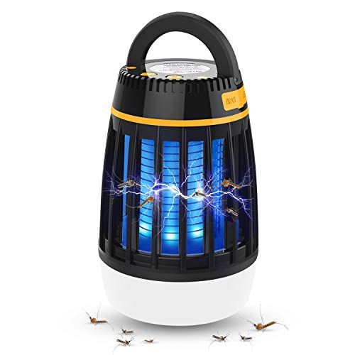 Dkinghome Lampe Anti Moustique UV Lanterne de...