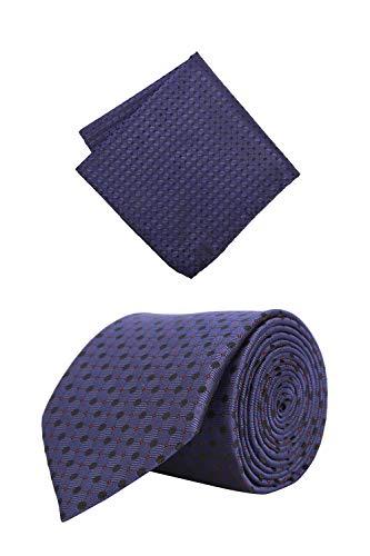 Peter England Men's Tie Set (RNP518974000_Red Color)