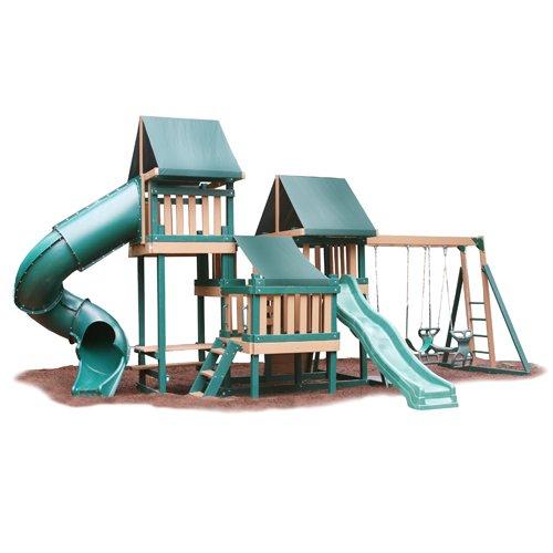 Big Sale Best Cheap Deals Monkey Playsystem Swing Set Green Package #4