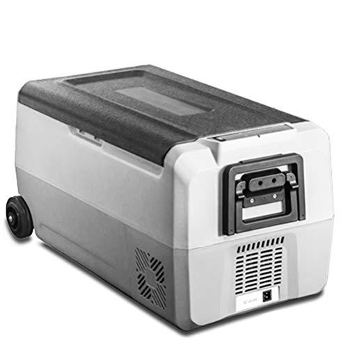 Auto-compressor-koelkast, mini-vrieskast, kan ijsblok, stil, mini-vrieskast voor buiten en familie, voor auto's, vrachtwagens, campers, boten