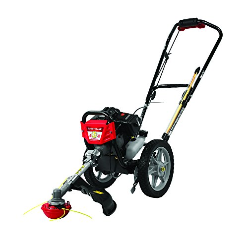Southland Outdoor Power Equipment SWSTM4317 Southland 2 Cycle Wheeled String Trimmer, Black/red