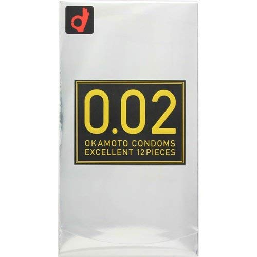 Okamoto Condoms 0.02 ZERO ZERO TO EX 1 box 12 pieces
