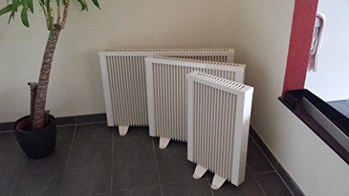 Elektroheizungen Paketset 3 elektrische Heizungen mit je 3 Standfüßen, Elektroheizung Schnatterer, Elektroflachheizung