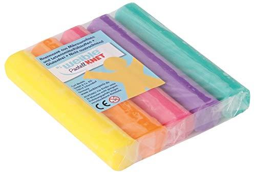 Pastell-Knet 5 gr. Rollen farbig sortiert WEIBLE 08504