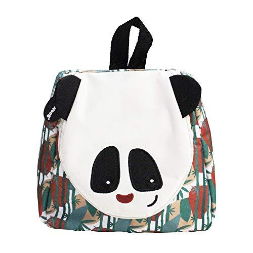 Les Déglingos Rototos le panda - Trousse da toilette per bambini e neonati, pratica da viaggio, divertente
