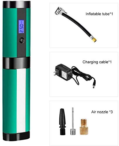 Chongqiji Intelligente Inflator Motorräder Fahrrad-Reifen-Luftpumpe 4LED Lampensäule Digitale Luftpumpe Wireless-Charging Inflator