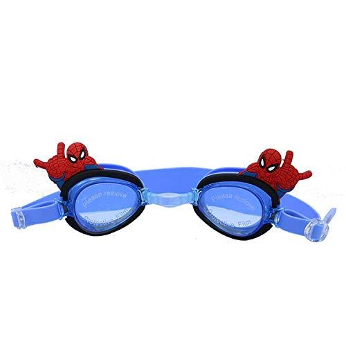 DKE&HXL Máscara De Buceo, Equipo Sumergible Anti-Vaho HD Gafas De Natación Protección UV con Tapones para Los Oídos, Gafas De Natación para Niños