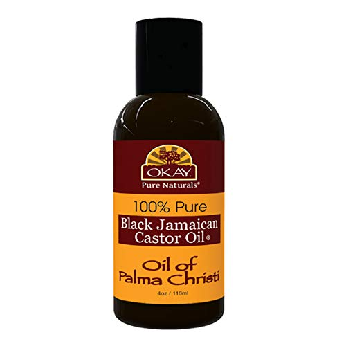 Xtreme Beauty International (Xbi) - Okay 100% Pure Black Jamaican Castor Oil - Huile De Carapate (Jbco) - Volume : 118 ml.
