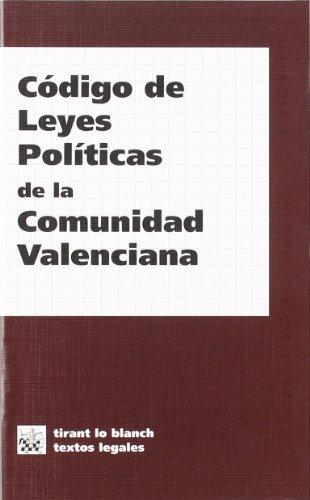 Código de leyes políticas de la Comunidad Valenciana