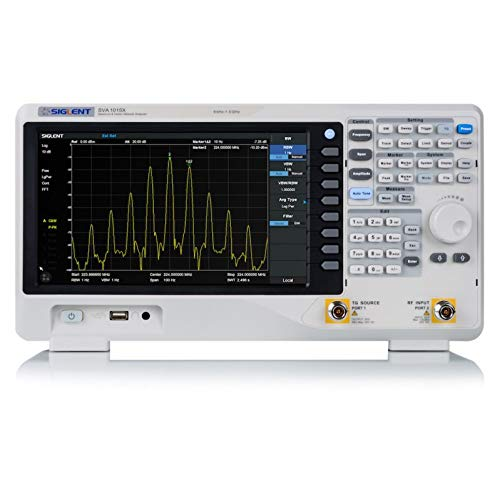 SIGLENT SVA1015X Spectrum Vector Analyzer 9 kHz up to 1.5 GHz Frequency Range + Tracking Generator