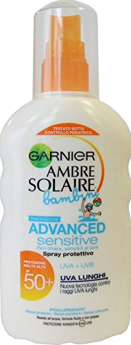Ambre Solaire Spray Solaire Enfants Advanced Sensitive FP50 + 200 ml