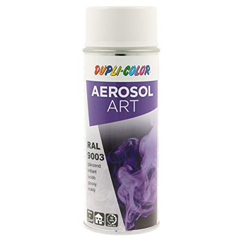 Duplicolor 741418 Aerosol Art RAL 9003 Brillant 400ml