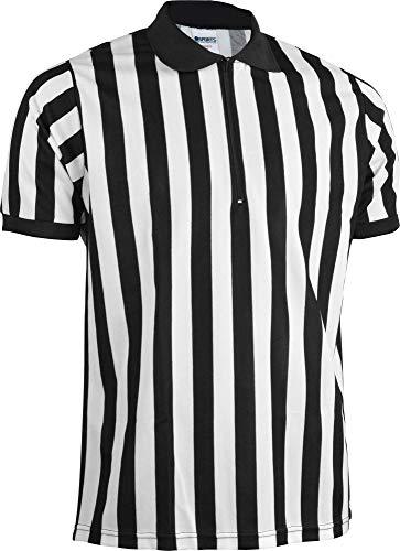 Sports Unlimited Zip Hals Erwachsene Schiedsrichter Jersey, Small