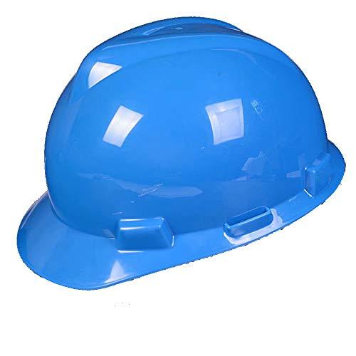 WY-Hard hat Casco de Seguridad con Casco de Trabajador de construcción Slip Ratchet ✅