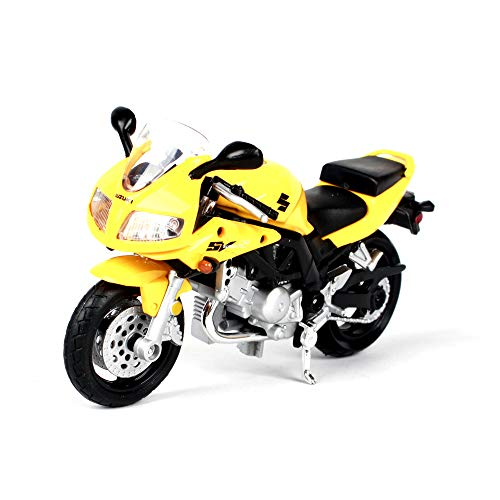 Penao Modèle de Moto Suzuki Simulation Alliage, Ornements de modèle d'Automobile, Proportion 01:18