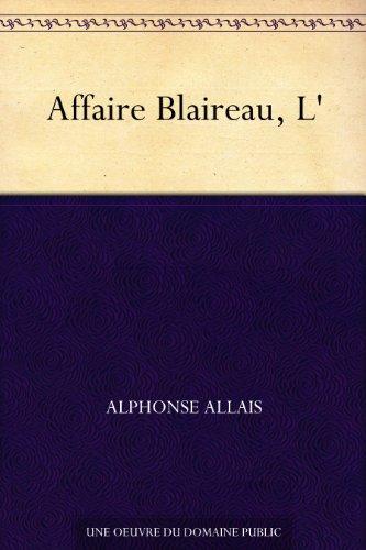 Couverture du livre Affaire Blaireau, L'