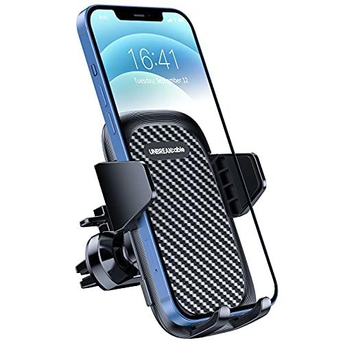 UNBREAKcable [Aggiornato 3.0 Porta Cellulare da Auto Clip Supporto Cellulare Auto Universale Rotazione di 360 Gradi per iPhone 12 Pro 11 Xr X 8 7 , Samsung Galaxy S21 S20, Xiaomi, LG, Sony, Huawei