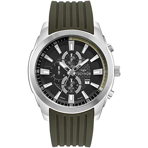 Relógio Technos, Pulseira de Silicone, Masculino Verde OS1ABA/8P
