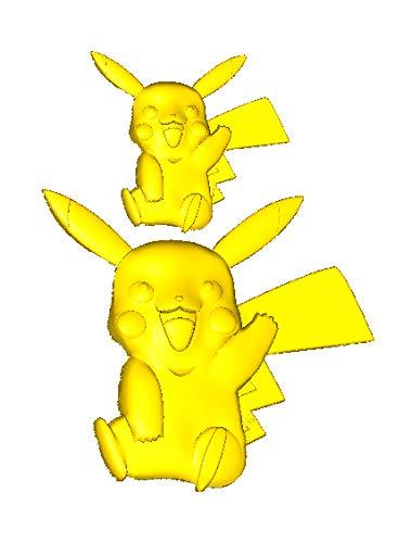 Diy Pokemon Pikachu Silikonform Fondant Kuchenform Kuchen Dekorationswerkzeuge Schokoladen Gumpaste Form