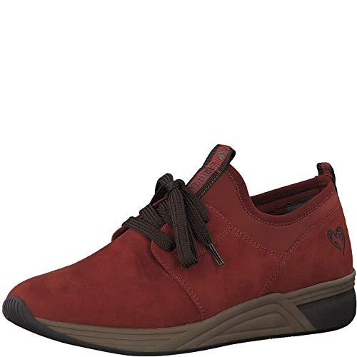 Marco Tozzi Earth Edition 2-2-23742-25 Sneaker, Zapatillas Mujer, Peine De Ladrillo, 40 EU