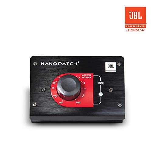 JBL Professional Nano Patch + Compact 2-Channel Passive Volume Controller (NPATCH BLK)