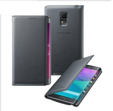 SmartLike Leather Flip Cover for Samsung Galaxy Note 4 Edge