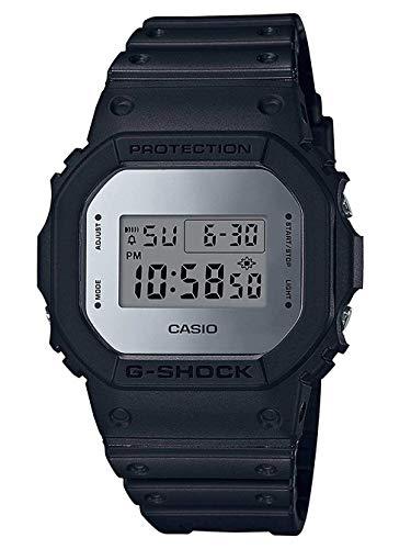 Casio G-SHOCK Orologio 20 BAR, Nero, con Ricezione Segnale Radio e Funzione Solare, Digitale, Uomo, DW-5600BBMA-1ER