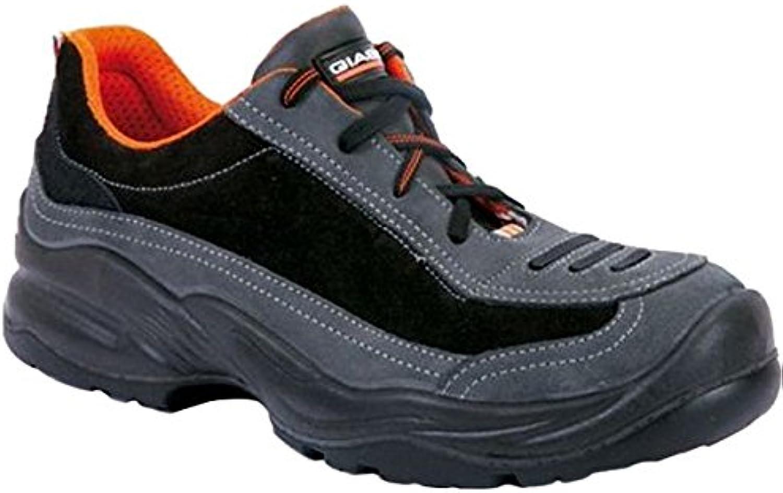 Giasco HRD052T46 Safety shoes  Franklin  SB, Size 11, Black orange - EN safety certified