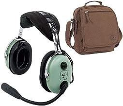 David Clark H10-13S Stereo Headset & Headset Bag Combo