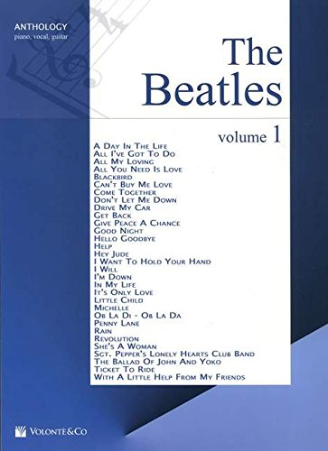 The Beatles Anthology, für Klavier und Gesang