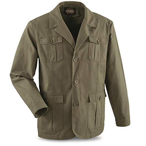 Guide Gear Men's Sportsman's Field Jacket, Olive, XL