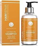 Hairworthy Hairrepair Shampoo/Champú De Aceite De Coco – BIOTINA, NIACINA, ÁCIDO CÍTRICO Y ACEITES ESENCIALES.
