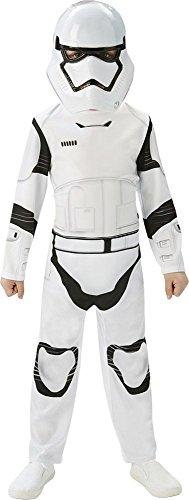 Rubie's Star Wars 7 Kinder Kostüm Stormtrooper Classic Karneval Gr.5-6 J.