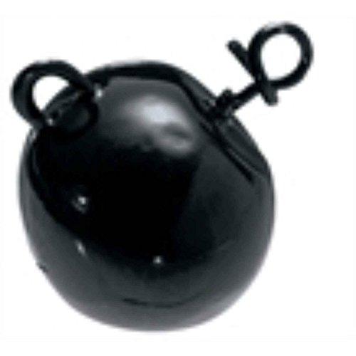 Mustad Fastach Football Head 1/2Oz Fishing Terminal Tackle (2 Pack), Green Pumpkin, Size 12