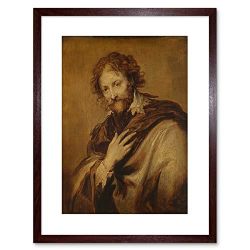Wee Blue Coo LTD Van Dyck Workshop Portrait Artist Peter Rubens Small Framed Art Print F97X13413