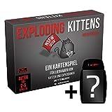 Exploding Kittens - NSFW Edition - Kartenspiel | DEUTSCH |Set inkl. Kartenspiel