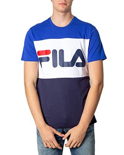 Tshirt Fila Day Tee Uomo Blu Bianco - Blu, M